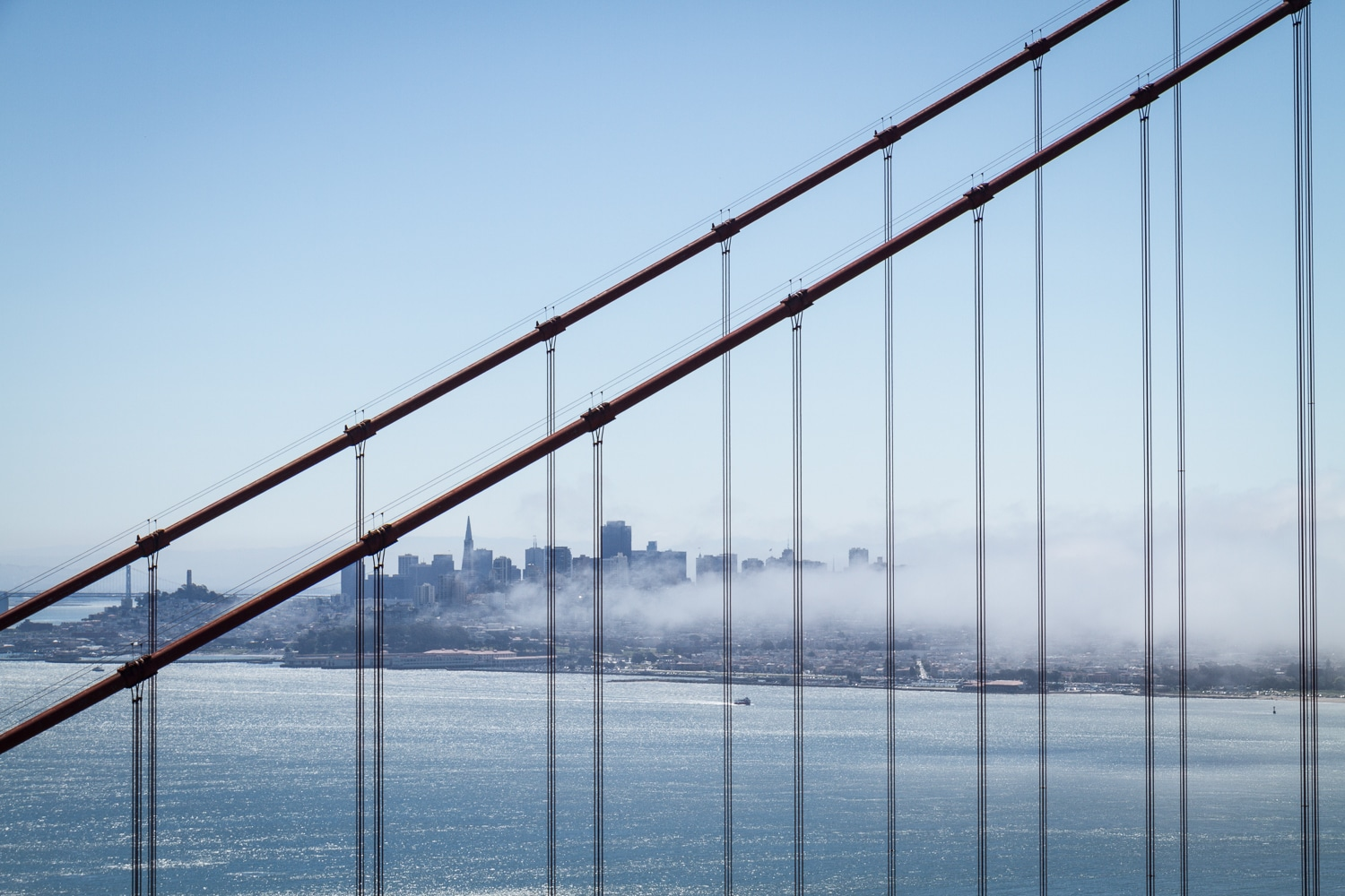 Through the Cables | Golden Gate Bridge | California