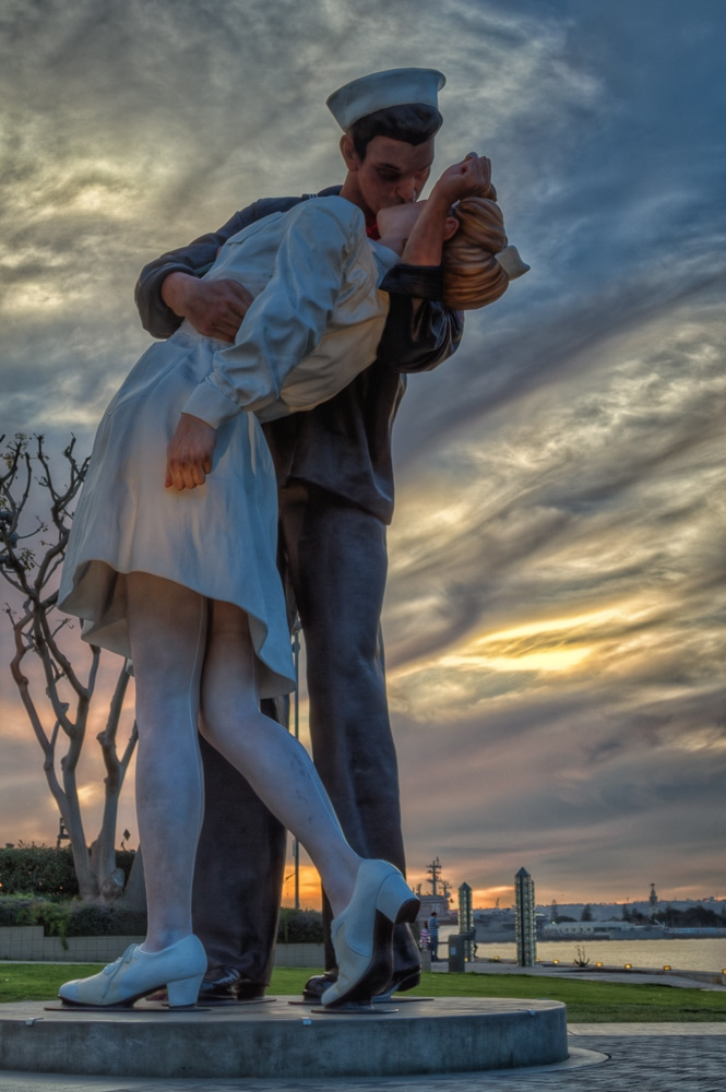 Unconditional Surrender Statue | San Diego | California