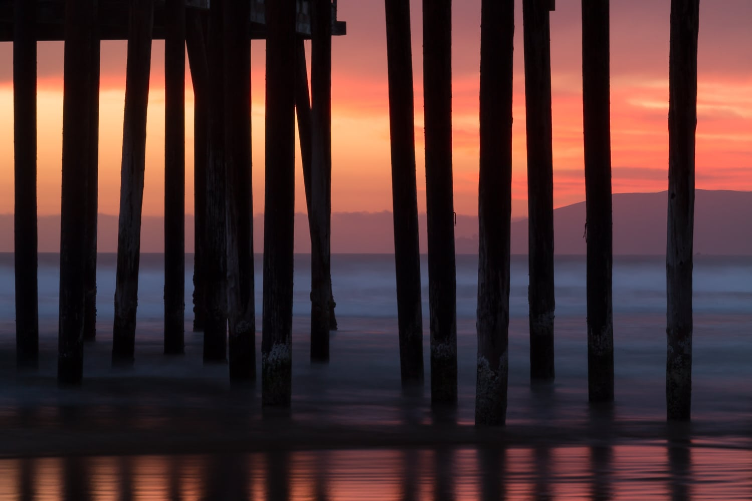 Sunset Silhouette | Pismo Beach Pier | California