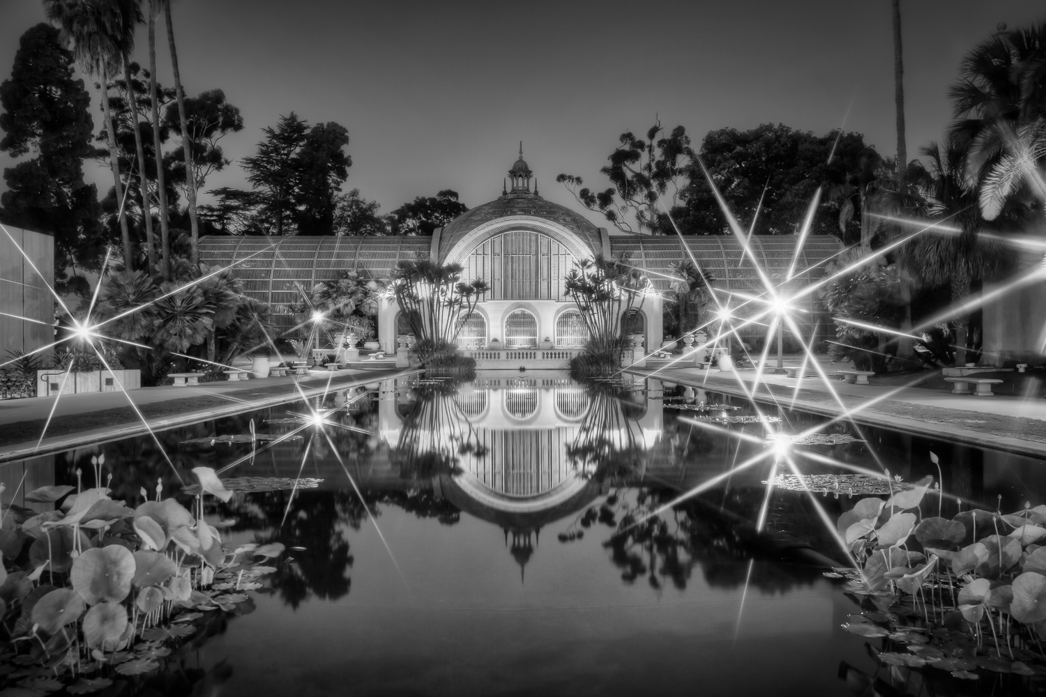 Evening Reflections | Botanical Building | Balboa Park | San Diego | California