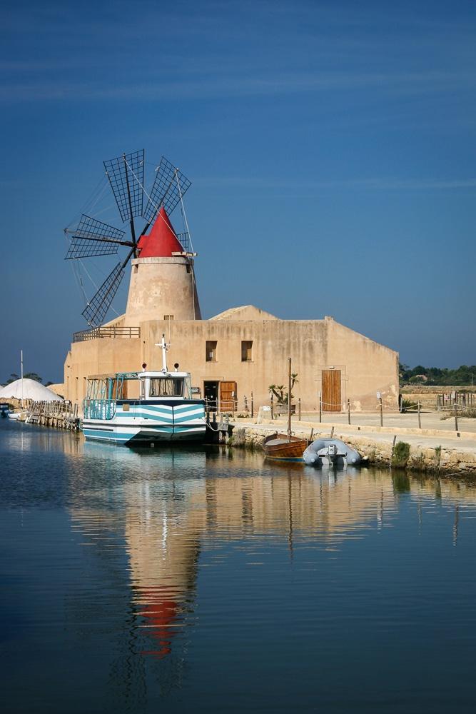 Sicilian Salt Flats | Saline di Trapani | Sicily | italy