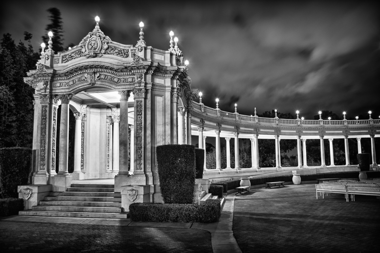 A Night at the Pavilion | Spreckels Organ Pavilion | Balboa Park | San Diego | California