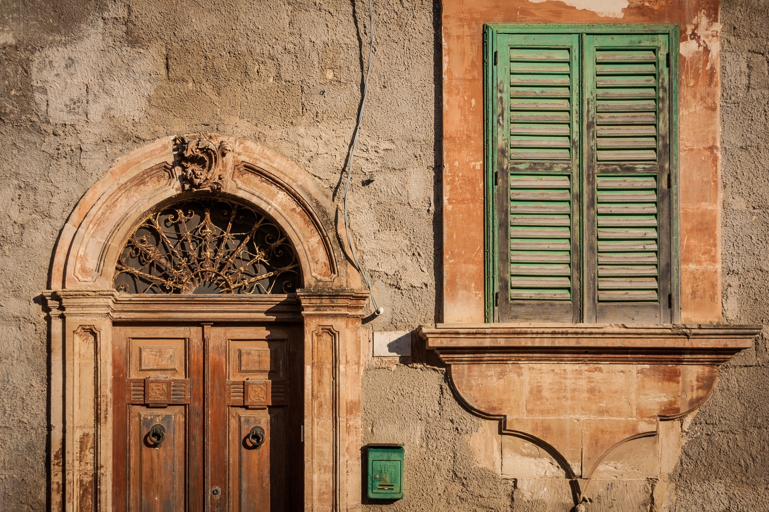 Door and Window | Ragusa Ibla | Sicily | Italy