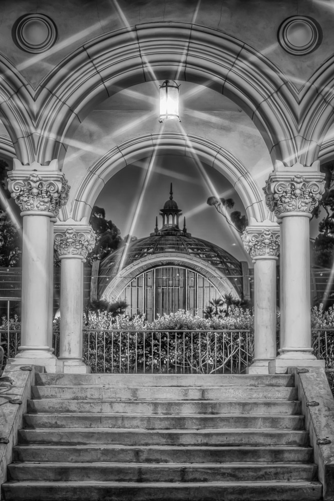 Through the Arches | Balboa Park | San Diego | California
