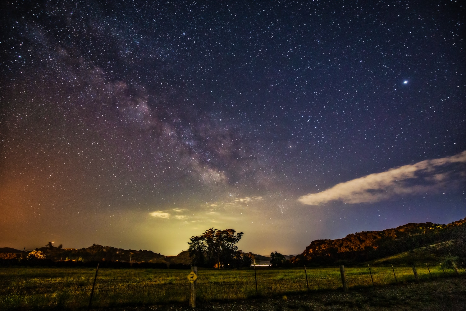 The Amazing Night Sky | Edna Valley | California