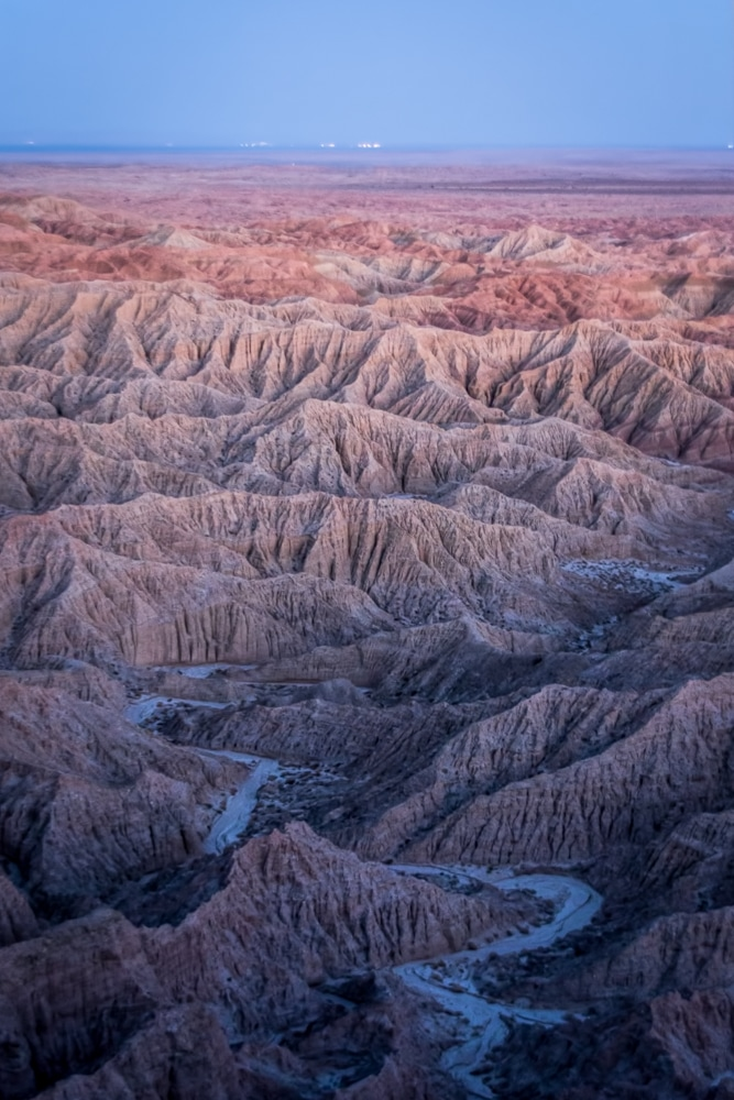 Badlands from Font's Point | Anza-Borrego Desert State Park | California
