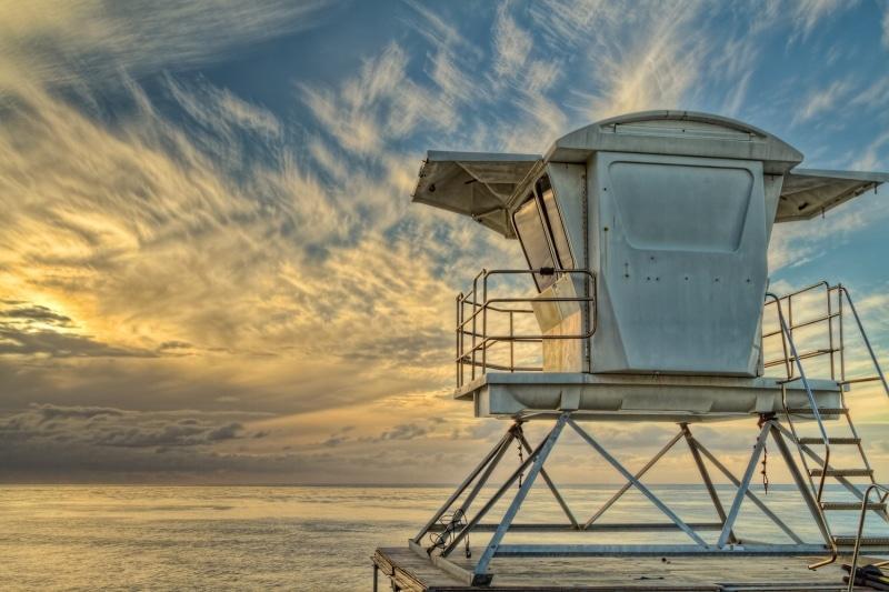 Anticipating Tomorrow | Lifeguard Stand in La Jolla | California
