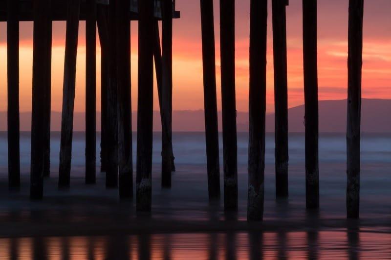 Sunset Silhouette | Pismo Beach Pier | California