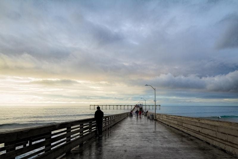 Ocean Beach Pier at Sunset | San Diego | California
