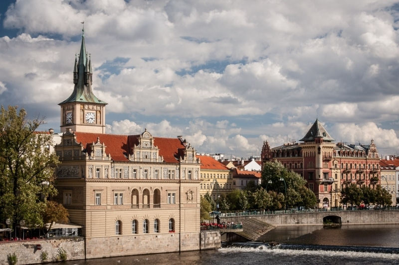 Prague Along The River