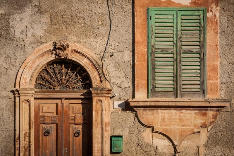 Door and Window | Ragusa Ibla | Sicily | Italy