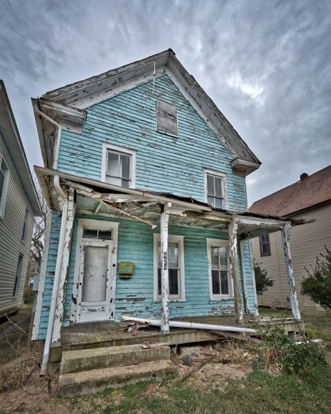 Abandoned Beach Cottage | Cape Charles | Eastern Shore | Virginia