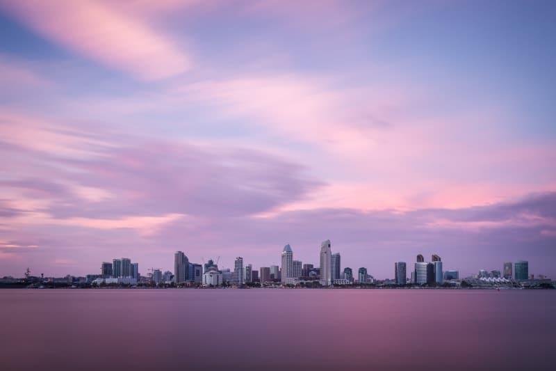Dreamy San Diego Sunset | Bayview Park | Coronado | California