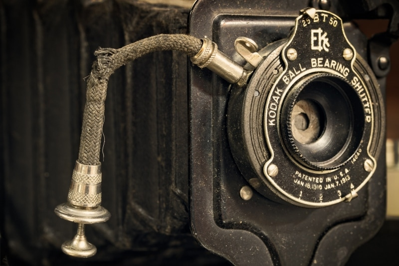 Kodak Ball Bearing Shutter | Antique Camera
