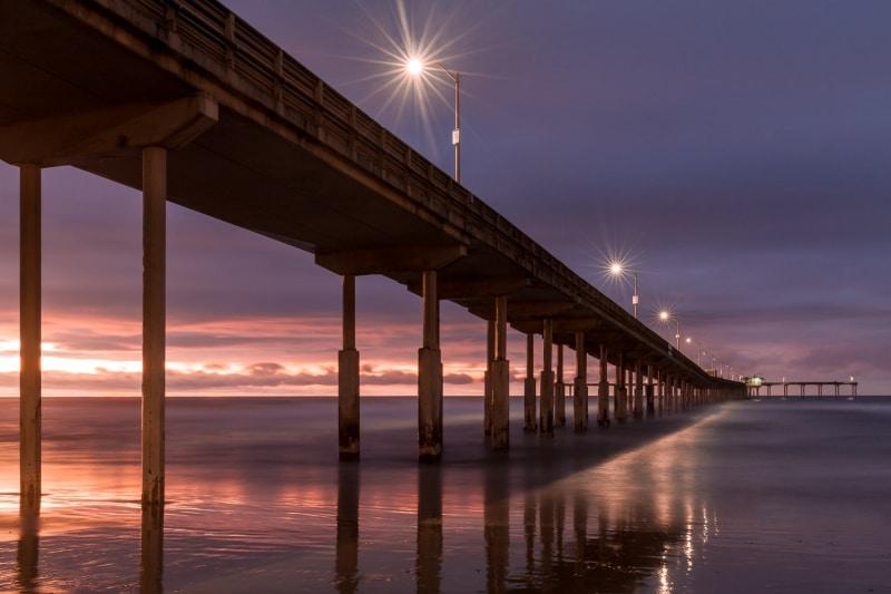 Ocean Beach Pier at Dusk | San Diego | California
