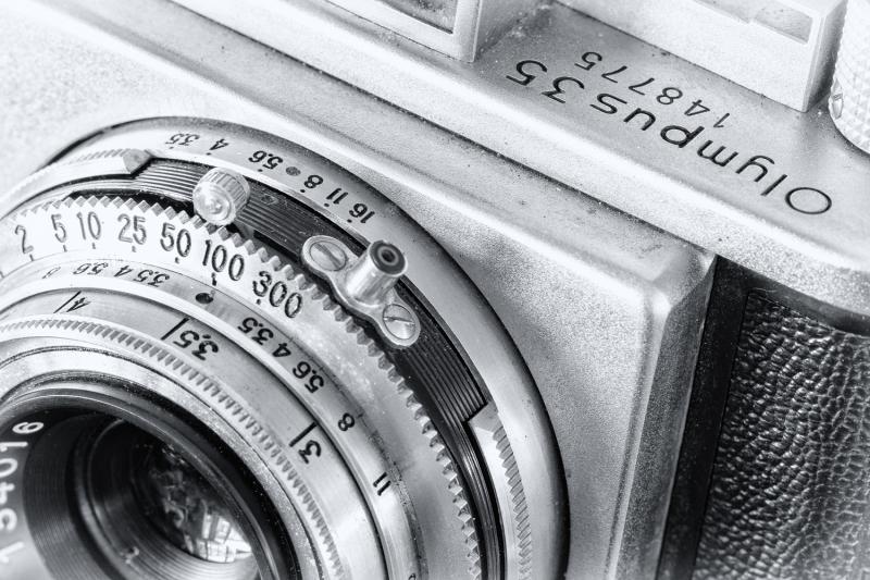 Vintage Olympus 35 Camera