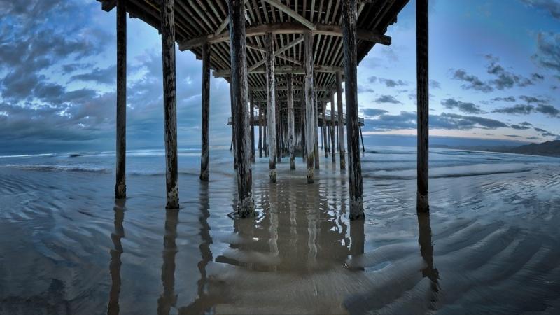 Pismo Beach Pier at Sunrise | California