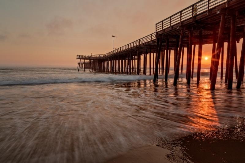 Pismo Beach Pier at Sunset | California