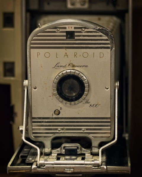 Polaroid Land Camera | The 800