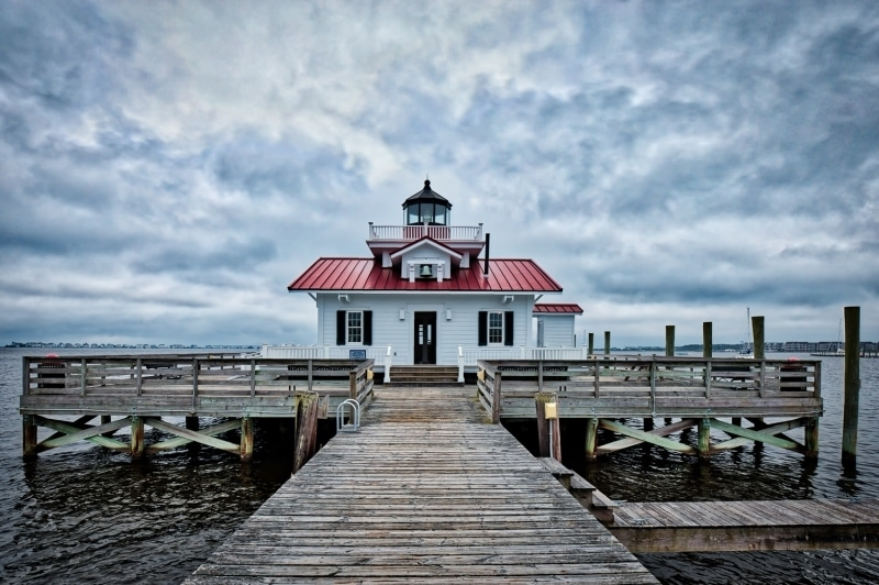 Roanoke Marshes Lighthouse | Manteo | Roanoke Island | Outer Banks | North Carolina