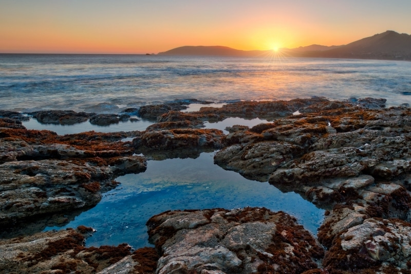 Sunset Sunburst | Sheall Beach | California