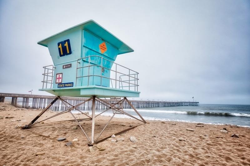 Lifeguard Stand | Ventura | California