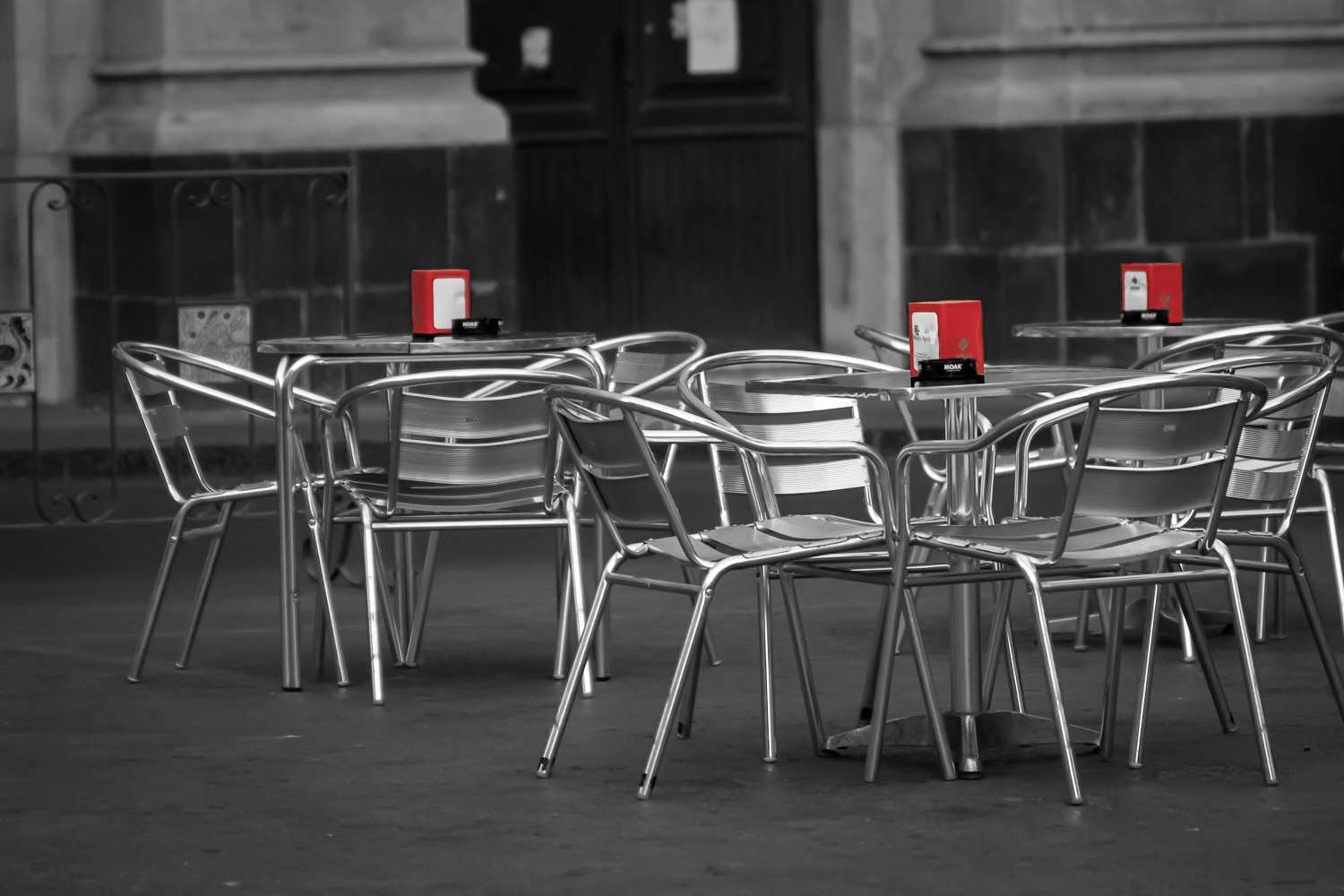 Cafe in the Piazza | Caltagirone | Sicily | Italy
