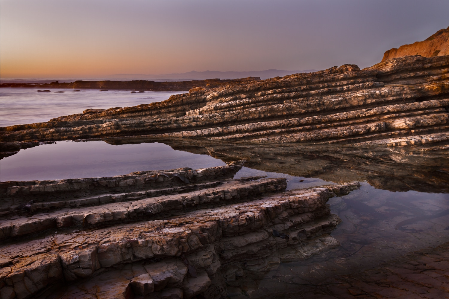 Glowing Tidepools at Sunset | Montana de Oro | Los Osos | California