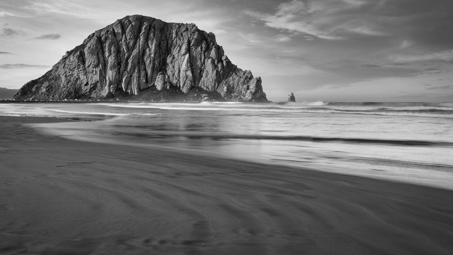 A Magical Morning at Morro Rock