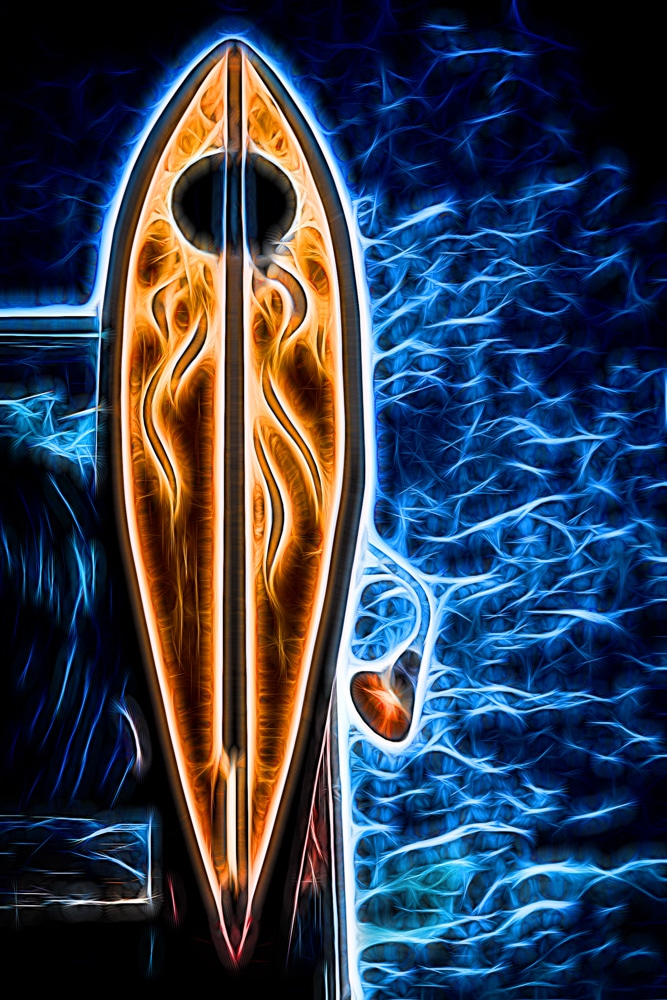 Neon Surfboard | Pismo Beach | California