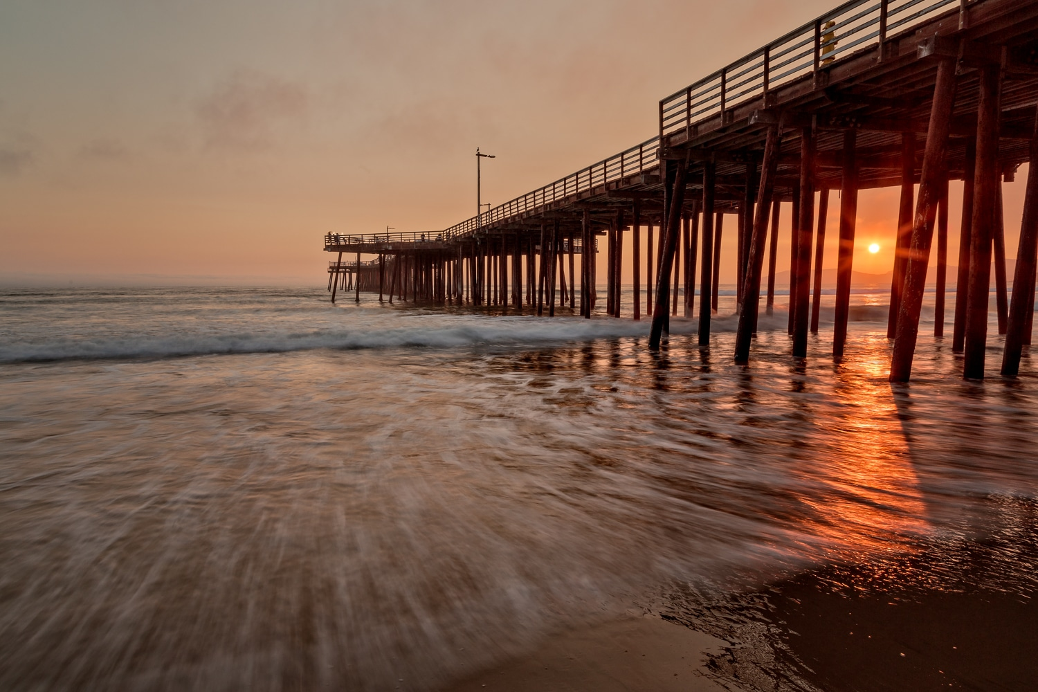 Pismo Beach Pier at Sunset | California