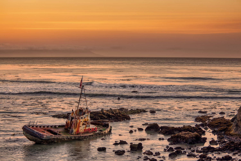 Point Estero Shipwreck