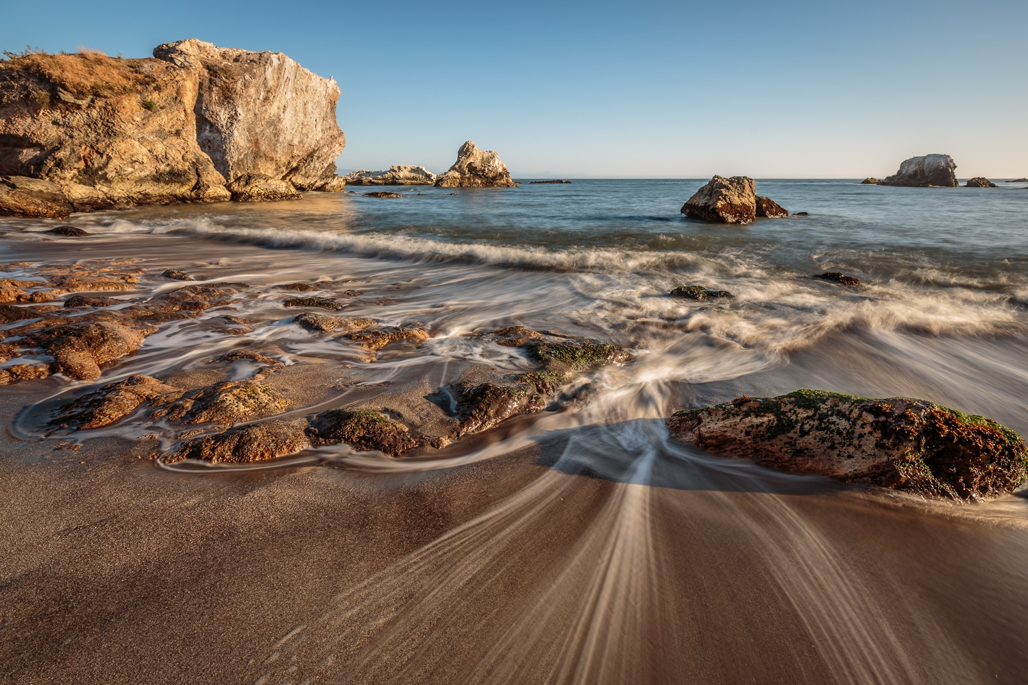 The Pull of the Ocean | Shell Beach | California