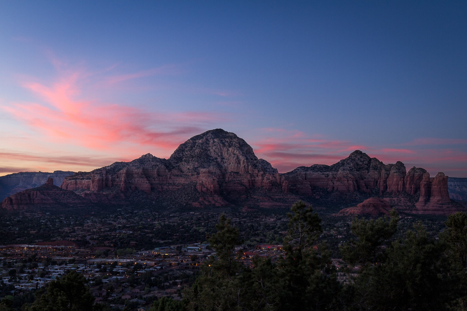 Pink Clouds at Sunset | Sedona | Arizona