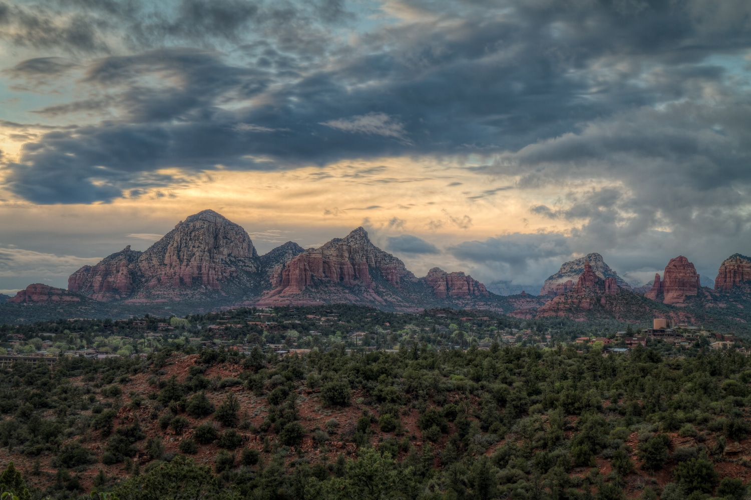 Stormy Sunset | Sedona | Arizona