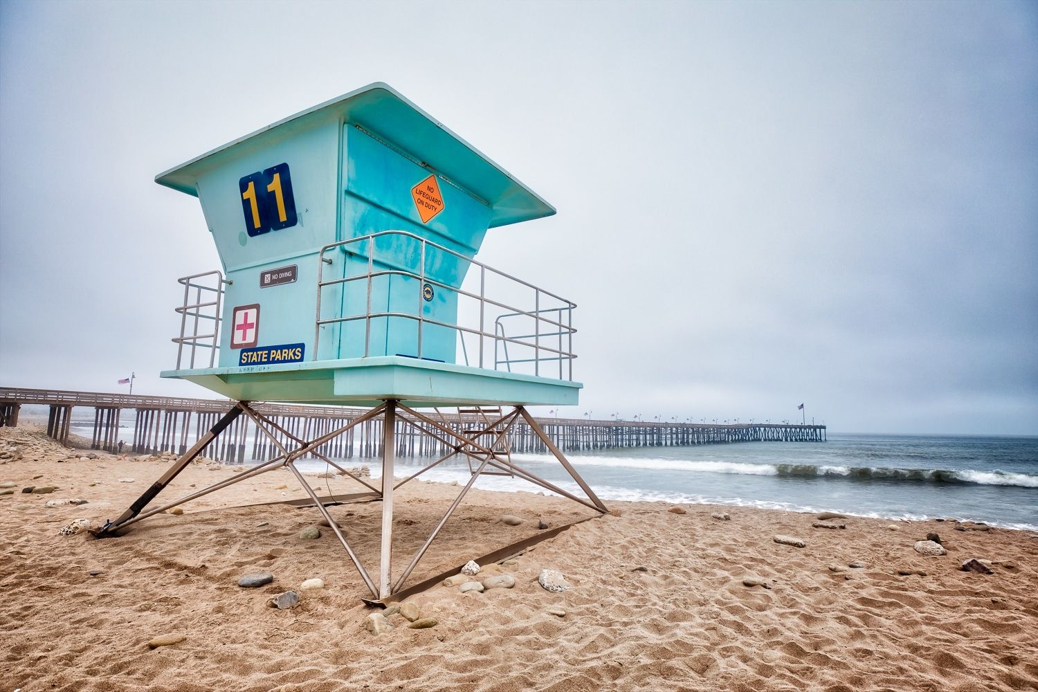 Lifeguard Stand | Ventura | California