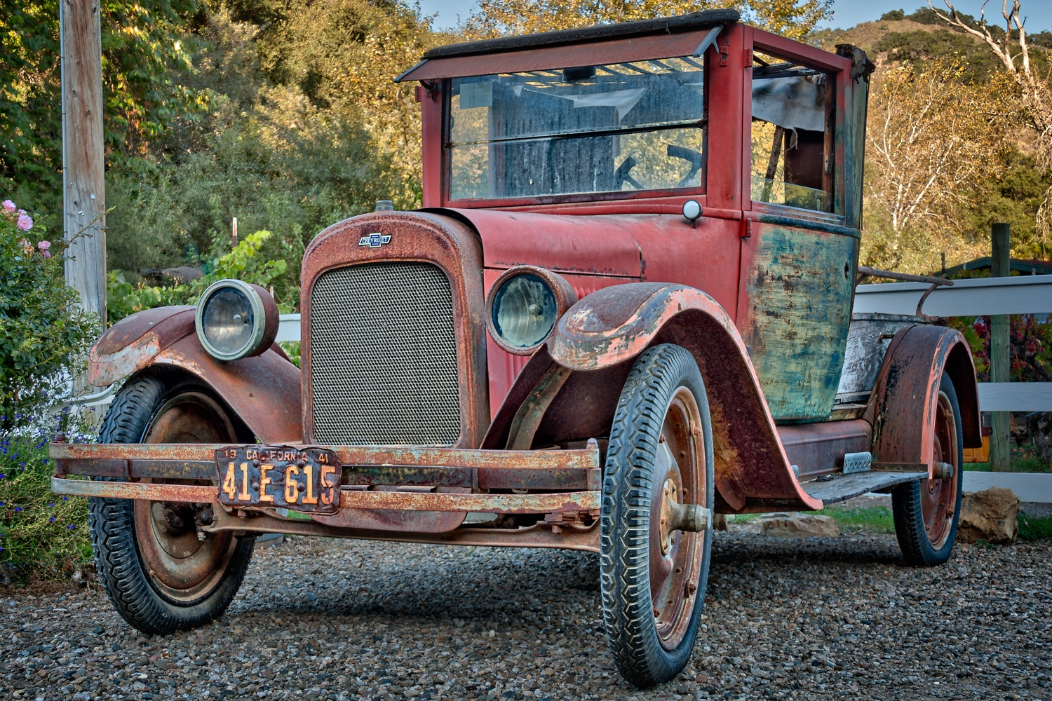 Vintage Chevrolet at Kelsey See Canyon Vineyards | San Luis Obispo | California