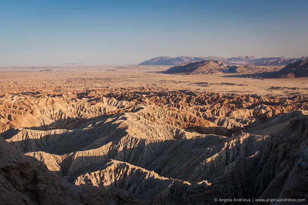 Sunset at Font's Point   Anza Borrego Desert State Park   Badlands