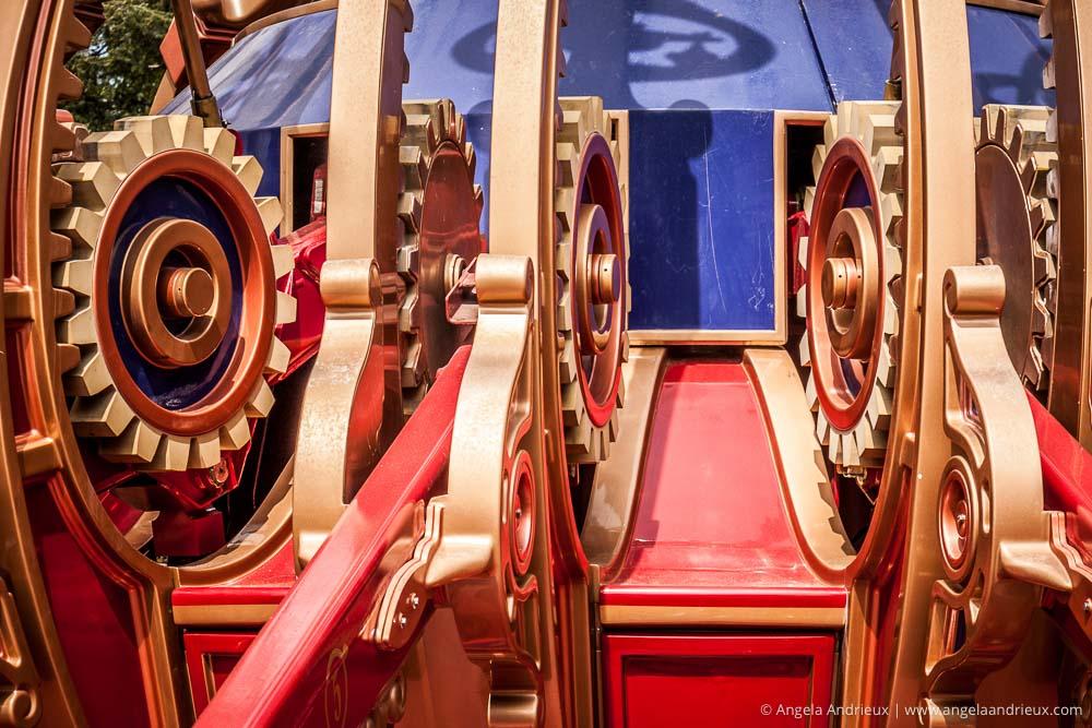Disneyland | Anaheim, CA | Detail of Dumbo Ride