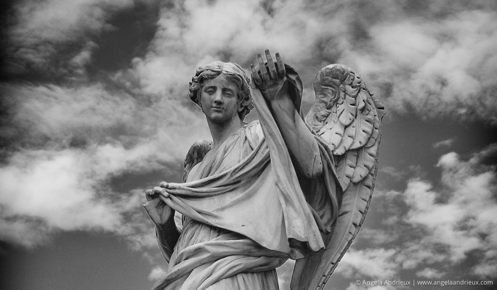 Angel Sculpture | Pont Sant Angelo | Rome, Italy