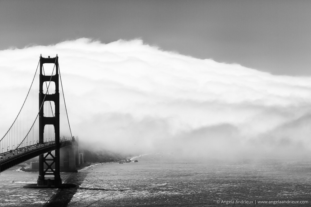 Entering Fog City | Golden Gate Bridge | San Francisco, CA