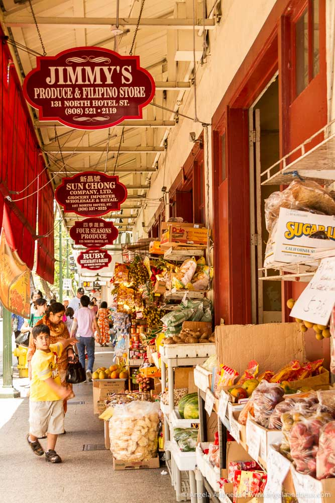 Shops | Chinatown | Honolulu | Oahu | Hawaii