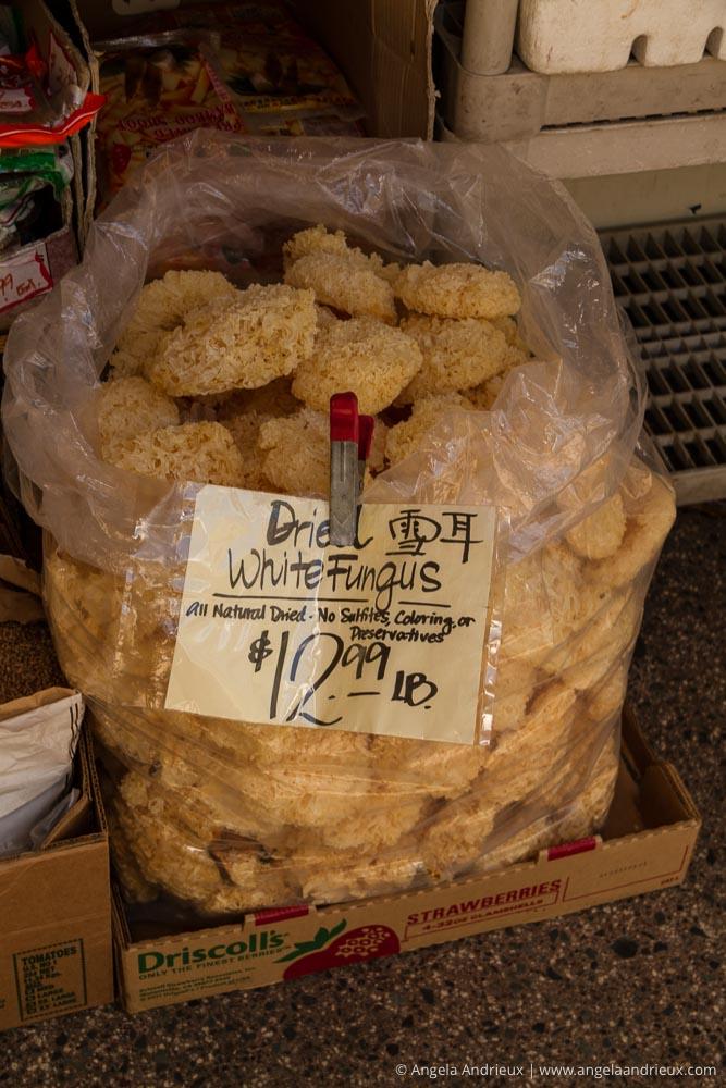 Dried White Fungus | Chinatown | Honolulu | Oahu | Hawaii