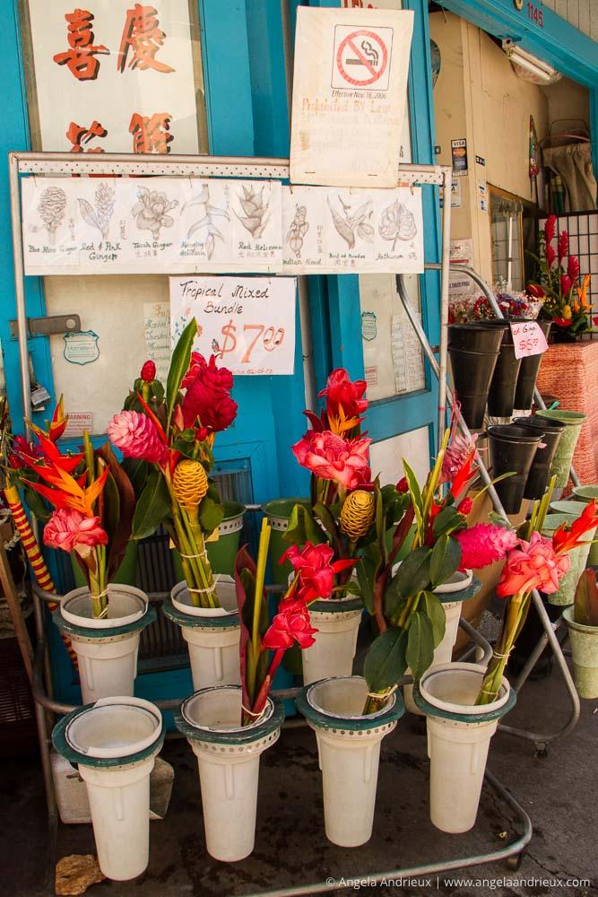 Tropical Flower Bouquets | Chinatown | Honolulu | Oahu | Hawaii