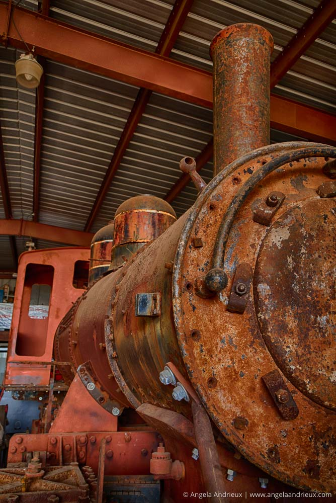 Antique Locomotive Train Engine | Hawaiian Railway Society | Oah