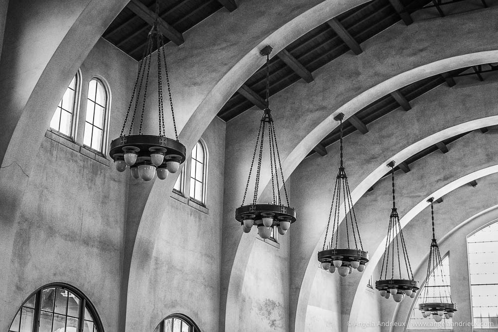 Arches & Chandeliers | Santa Fe Station | San Diego, CA