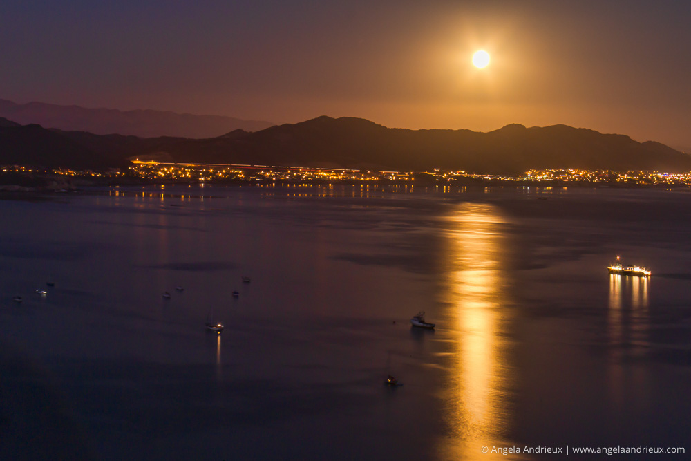 Full Moon Rise | Point San Luis