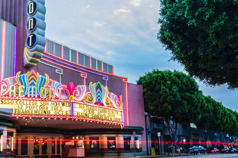 Fremont Theatre | San Luis Obispo, CA | California Photo Festival | Thirty Days of Thanksgiving