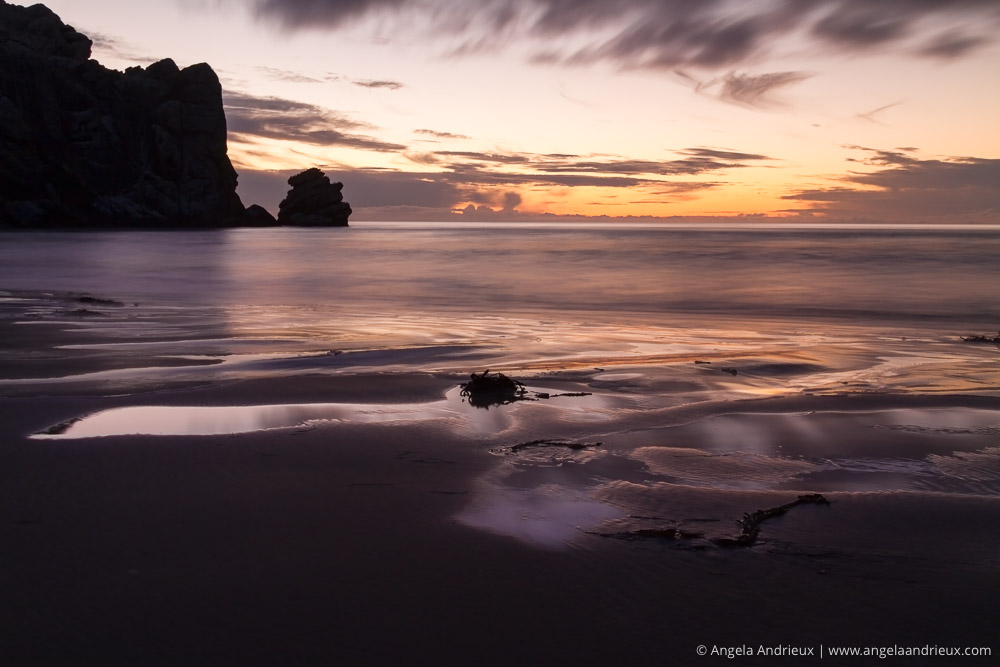 Morro Strand State Beach | Morro Bay, CA | California Photo Festival | Purple Sunset