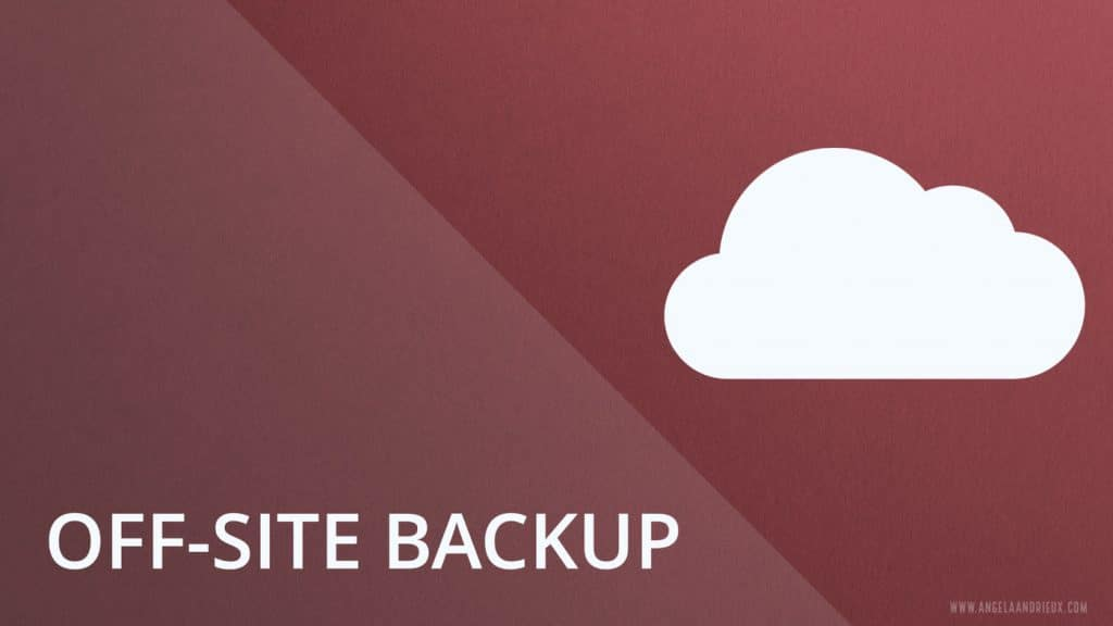 Copy 3 is your offsite, ideally cloud backup
